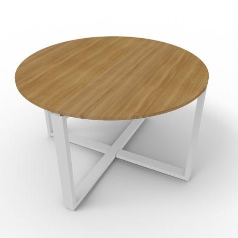 Circular Loop Frame Table - Aluminium Frame