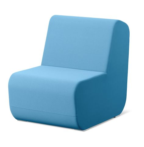 Open Port Meeting Chair No Arms