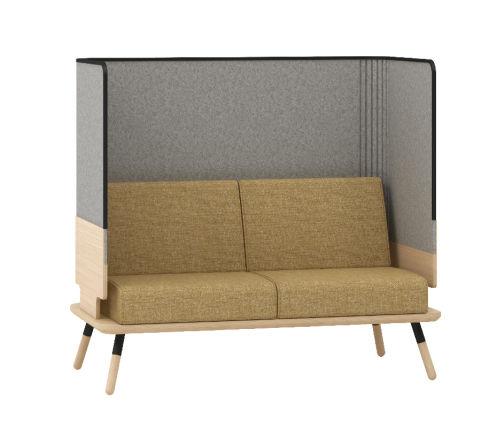 Console 2 Seater High Back Sofa - Peacework