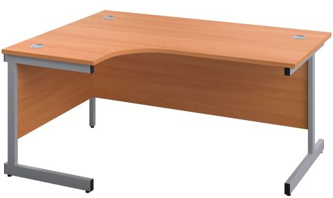 Draycott Left Hand Corner Desk In Beech
