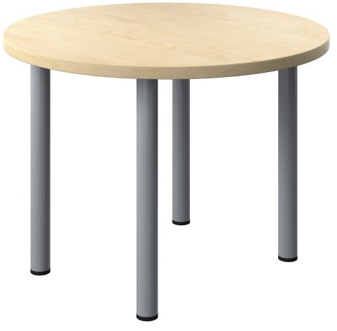 Draycott Round Table With A Maple Top