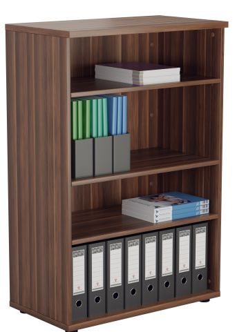 Draycott 1200m High Bookcase In Walnut
