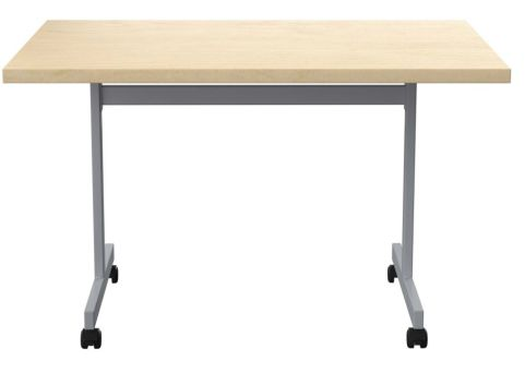 Draycott Folding Table With A Beecj Top Front View