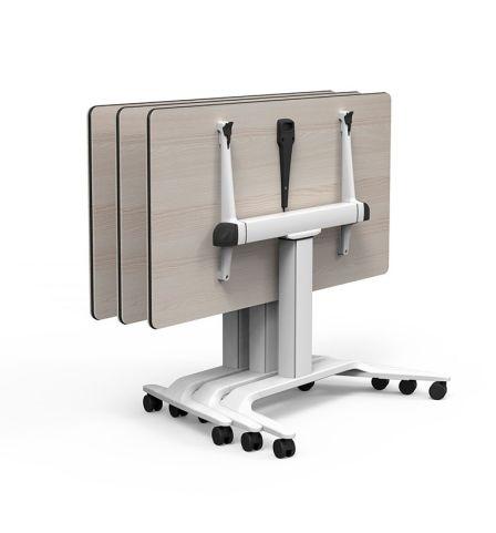 Flip Top Height Adjustable Talent Table