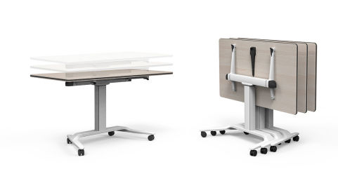Talent Tables Height Adjustable And Flip Top