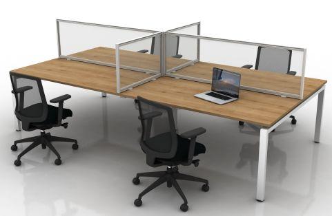 Glazed Desk Mounted Screens