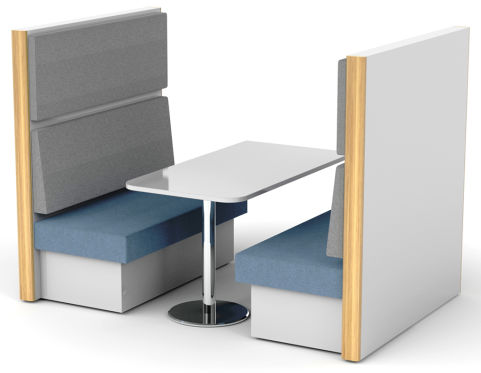 Sona 4 Person Dining Booth