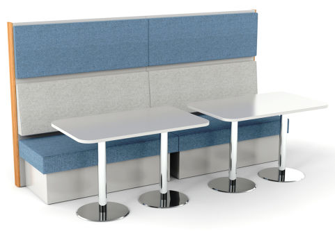 Sona 4 Person Seating With Tables