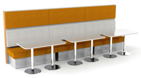 Sona 6 Person Seating With Tables