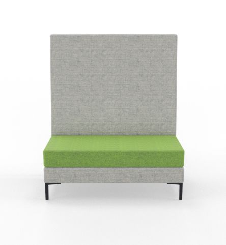Bruce High Back 2 Seater Sofa
