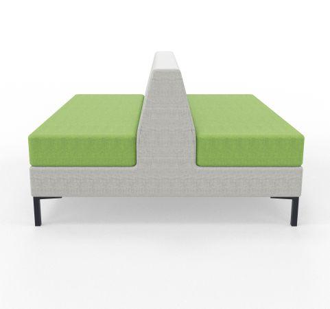 Bruce Double Sofa's PCon Blazer Green And Grey