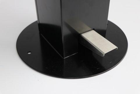 1L Hands-Free Sanitising Station - Black (2)