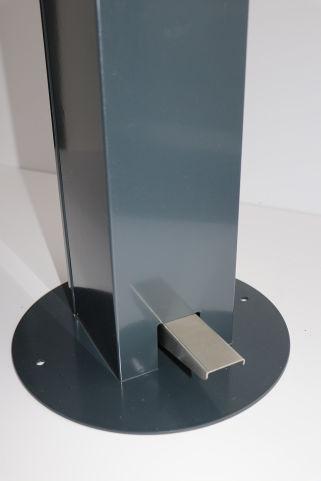1L Hands-Free Sanitising Station - Grey (2)