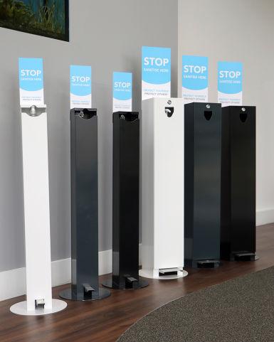 Hands-Free Sanitising Station Range (1)