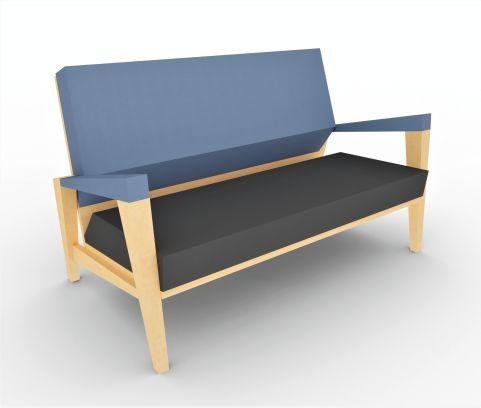 Shard 2 Seater Sofa