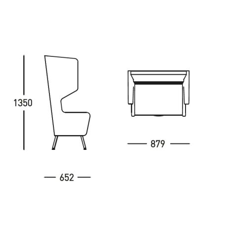 Saloon Arm Chair Dimensions - Office Reality