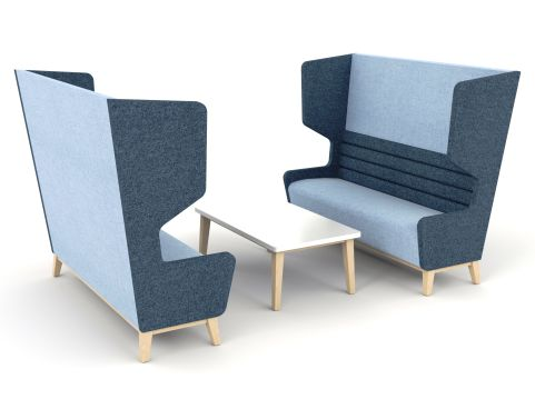 SALOON Antibacterial Sofa And Vinyl And Fabric