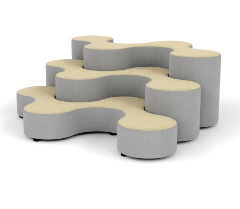DNA Antibacterial Low Stools - Office Reality