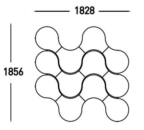DNA Stool Dimensions