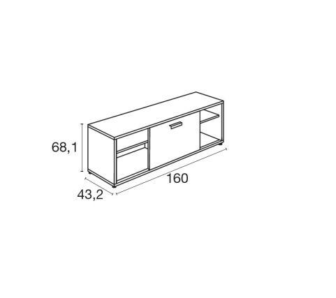 Moka Storage Unit Dimensions