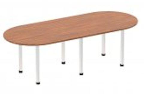 SOLAR BOARDROOM TABLE WALNUT