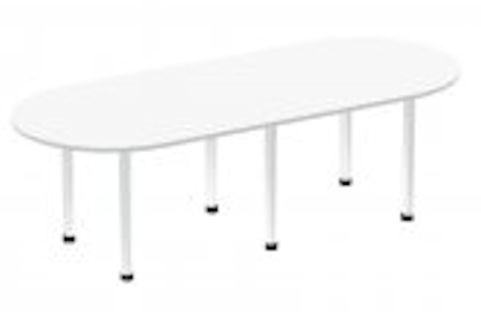 SOLAR BOARDROOM TABLE WHITE
