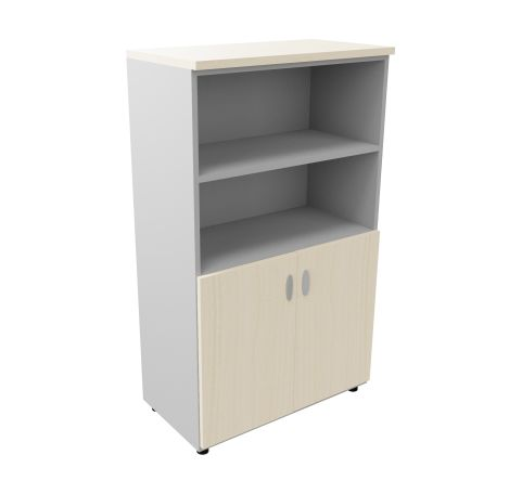 Mid High Cupboard Woth Open Unit Maple