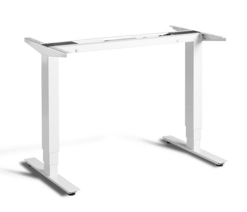 Rapid Mini Height Adjustable Frame Only - White