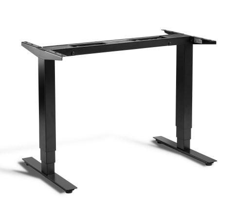 Rapid Mini Height Adjustable Desk Frame Only - Black