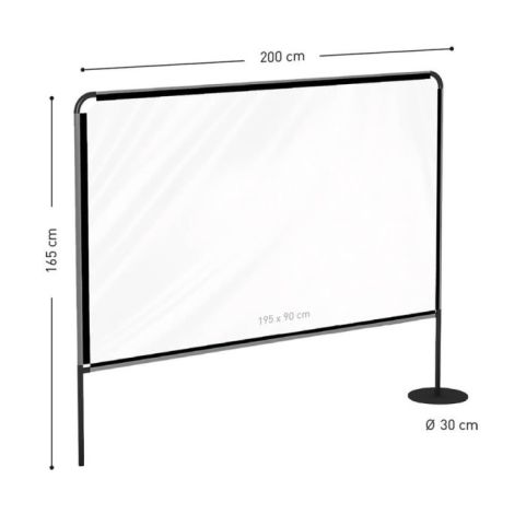 Large Outdoor Inbetween Screens Dimensions