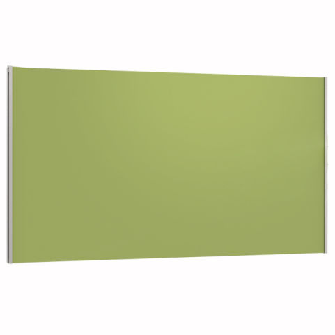 Arriva Express Value Straight Desk Top Screen Linking 480mm High Green