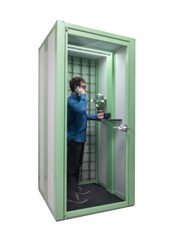 Mod Edge Phonebooth Green Trim