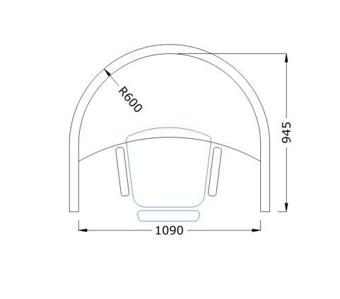 Aegis Solo Booth 3 Dimensions
