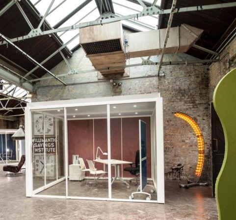 Erebus Square Glazed Pod 3000mm X 3000mm X 2200mm 2400mm High Studio