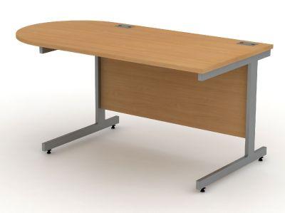 D End Cantilever Desk