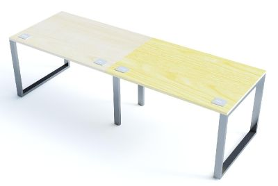 Side By Side Bench Sliding Top