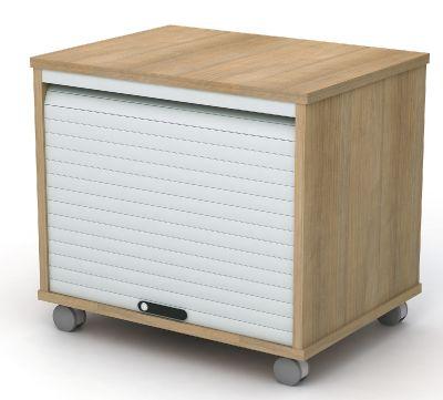 Mobile Tambour Cupboard