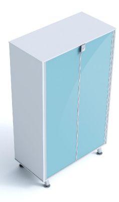 Block 40 Executive Glass Door Cupboard