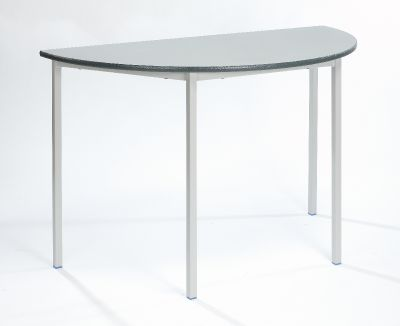 Fully Welded SemiCircular Table