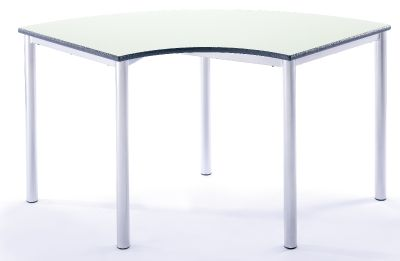 Arc TAble Green Front