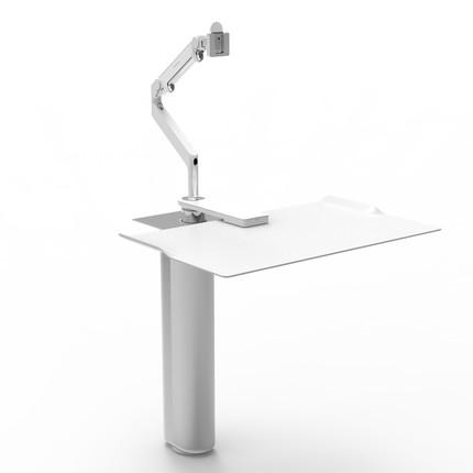 Humanscale Quickstand Under Desk